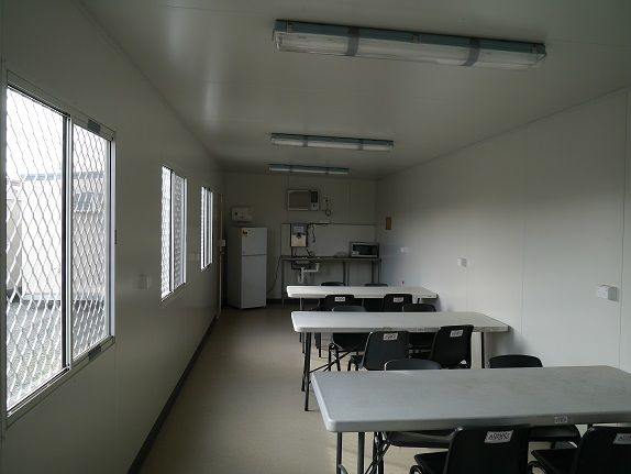 12m x 3m Lunch Room