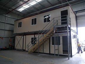 Double storey office complex