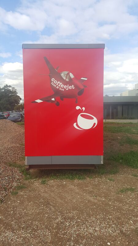 Used 11m x 18m Drive Through Cafe