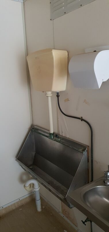 Used 6m x 3m Toilet shower