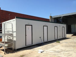 12m X 3m Portable Four Room Accommodation with Ac