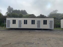 12m x 3m Four Room Accomodation