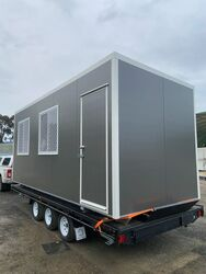 6M X 24M TRAILER MOUNTED LUNCH ROOM