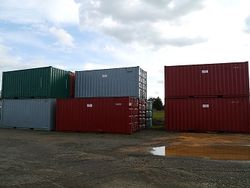 Various 20ft Containers