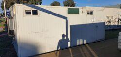 Used 6m x 3m Shower Block